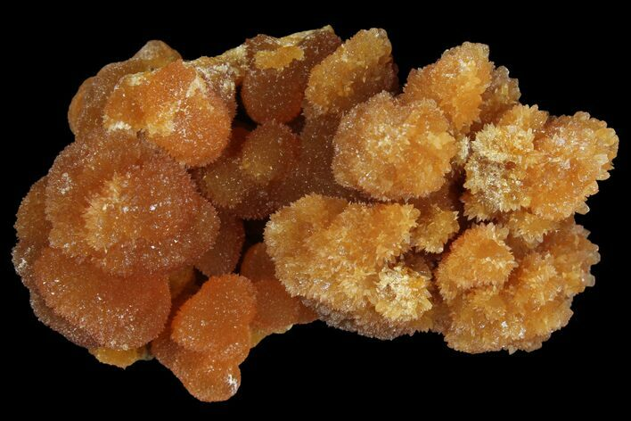 "2"" Red-Orange, Botryoidal Aragonite Formation - Peru"