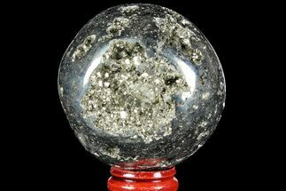 "Buy 2.35"" Polished Pyrite Sphere - Peru - #97990"