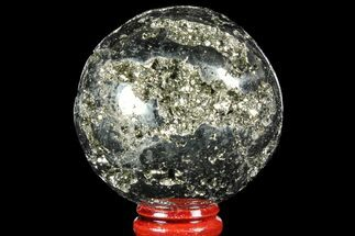 "Buy 2.25"" Polished Pyrite Sphere - Peru - #97996"