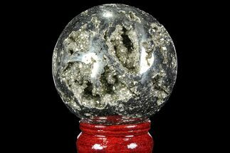 "Buy 2.5"" Polished Pyrite Sphere - Peru - #98032"