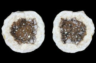 "Buy 2.4"" Keokuk Geode with Calcite Crystals - Illinois - #96559"