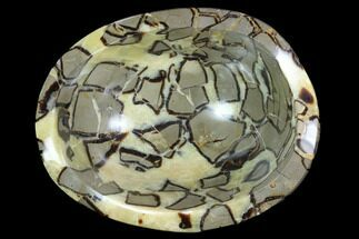 "8.1"" Polished Septarian Bowl - Madagascar For Sale, #98276"