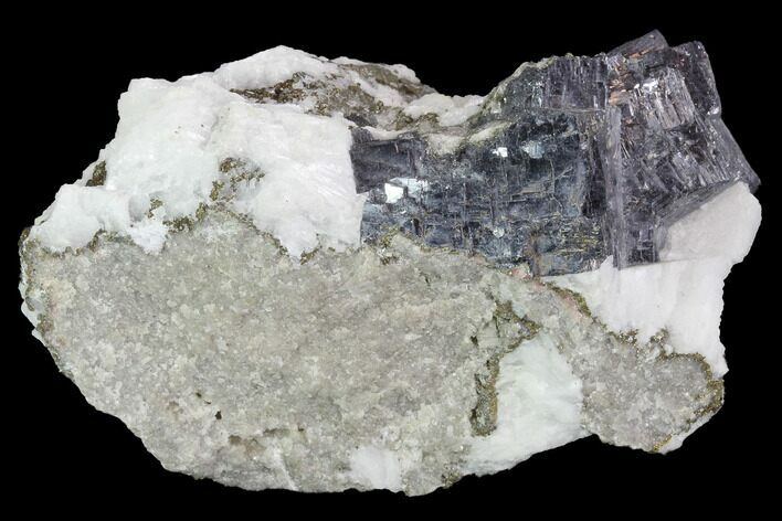 "2.3"" Galena, Marcasite & White Barite Association - Missouri"