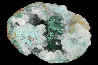 "1.6"" Quartz, Atacamite & Chrysocolla Association - Peru For Sale, #98138"