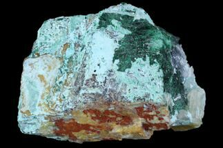Atacamite, Chrysocolla & Calcite - Fossils For Sale - #98139