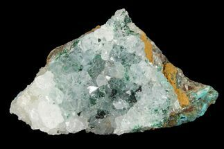 Quartz, Atacamite & Chrysocolla  - Fossils For Sale - #98160