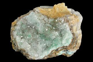 Atacamite, Calcite & Quartz - Fossils For Sale - #98166