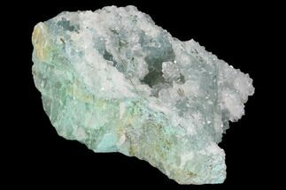 Quartz & Chrysocolla - Fossils For Sale - #98094