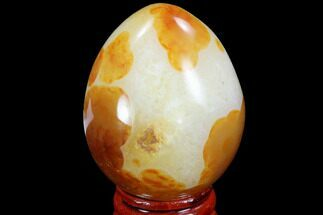 "2.1"" Colorful Carnelian Agate Egg - Madagascar For Sale, #98540"