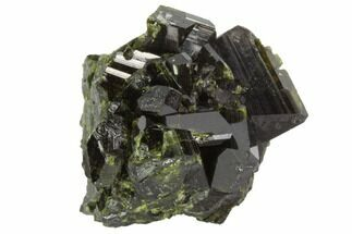 "1.15"" Epidote Crystal Cluster - Peru For Sale, #98939"