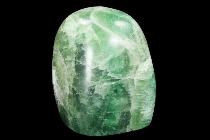 "4.1"" Polished Green Fluorite Freeform - Madagascar"