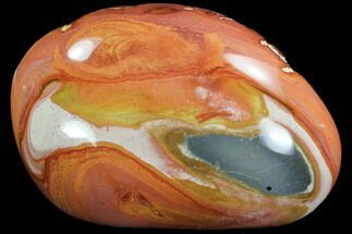 "Buy 4.5"" Polished Polychrome Jasper - Madagascar - #99649"