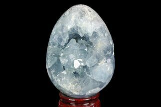 "Buy 3.4"" Crystal Filled Celestine (Celestite) ""Egg"" Geode - Madagascar - #100036"