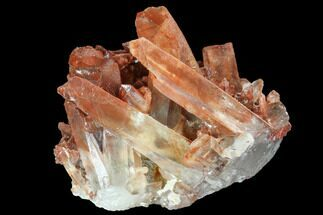 Quartz with Iron Oxide - Fossils For Sale - #101004