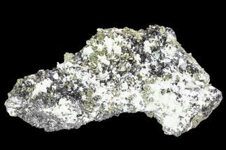 Chalcopyrite, Sphalerite & Quartz - Fossils For Sale - #102597
