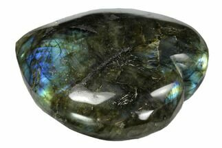 "Buy 3"" Flashy Polished Labradorite Heart - #62959"