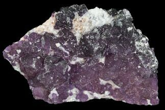 Fluorite, Quartz & Calcite - Fossils For Sale - #103548