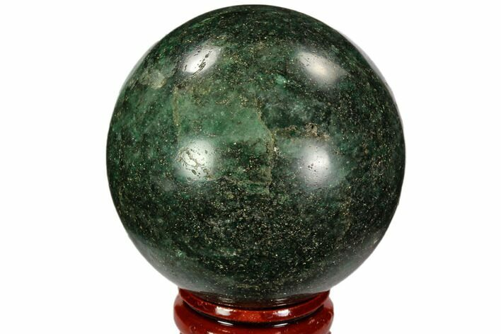 "2.1"" Polished Fuchsite Sphere - Madagascar"
