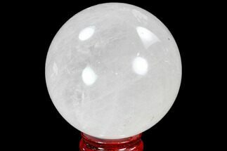 "3.3"" Polished Quartz Sphere - Madagascar For Sale, #104273"