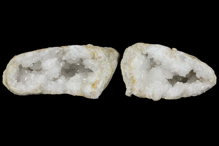 "Large 8.3"" Quartz Geode - Morocco - Both Halves"