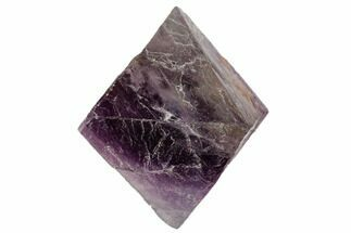 "1.8"" Fluorite Octahedron - Purple/Green For Sale, #104735"