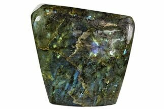 "4"" Flashy Polished Labradorite Free Form - Madagascar For Sale, #106904"