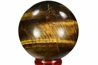 "2.4"" Polished Tiger's Eye Sphere - Africa For Sale, #107300"