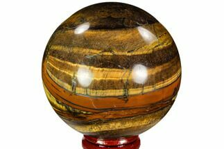 "2.65"" Polished Tiger's Eye Sphere - Africa For Sale, #107306"