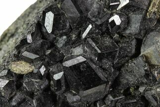 "2.1"" Black Andradite (Melanite) Garnet Cluster - Morocco For Sale, #107900"