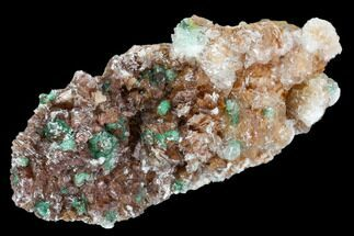 Rosasite, Selenite & Dolomite - Fossils For Sale - #108450