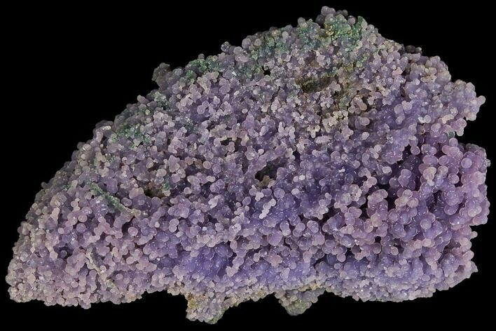 "4.5"" Purple, Druzy, Botryoidal Grape Agate - Indonesia"