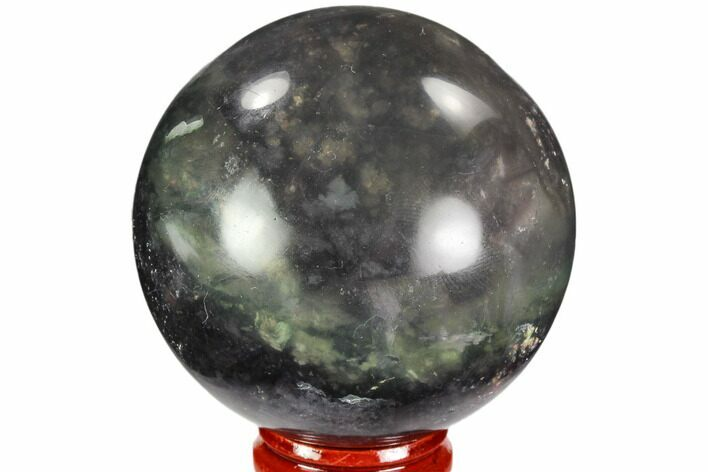 "2.45"" Colorful, Banded Fluorite Sphere - China"