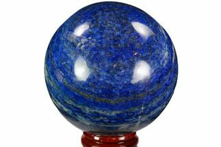 "2.65"" Polished Lapis Lazuli Sphere - Pakistan For Sale, #109706"