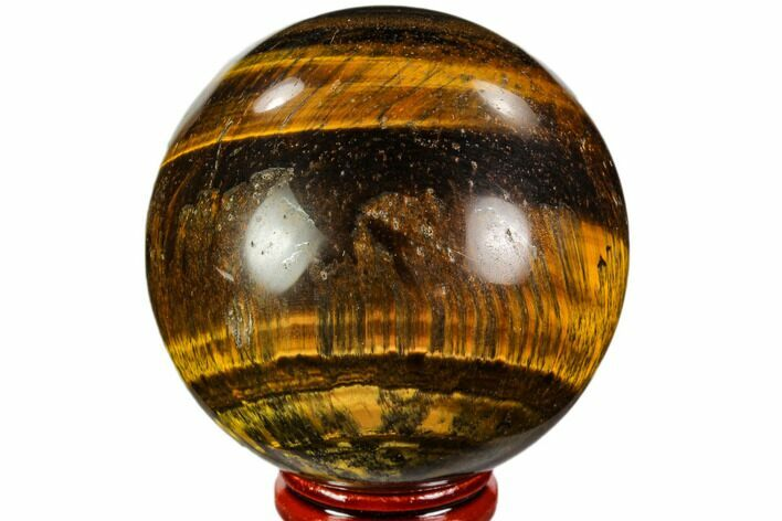 "2.5"" Polished Tiger's Eye Sphere - Africa"