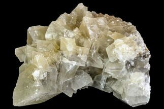 "4.1"" Fluorescent Calcite Crystal Cluster on Barite - Morocco For Sale, #109232"