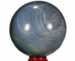 "Massive, 8.2"" Polished Lazurite Sphere - Madagascar For Sale, #110597"