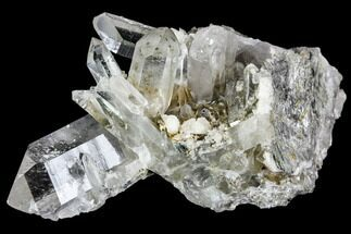 "3"" Quartz and Adularia Crystal Association - Hardangervidda, Norway For Sale, #111446"