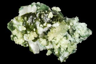 Heulandite, Celadonite & Apophyllite - Fossils For Sale - #111579