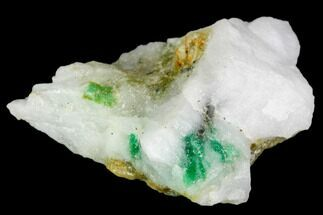 "Buy 1.3"" Beryl (Var. Emerald) in Calcite - Khaltoru Mine, Pakistan - #112066"