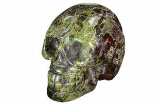 "Buy 1.9"" Polished Dragon's Blood Jasper Skull - South Africa - #112177"