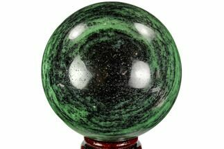 "Buy 3.5"" Polished Ruby Zoisite Sphere - Tanzania - #112519"