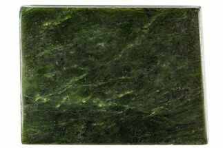 "5.3"" Polished Canadian Jade (Nephrite) Slab - British Colombia For Sale, #112739"
