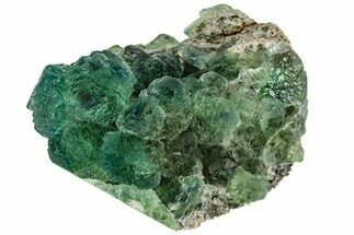 Fluorite & Quartz - Fossils For Sale - #112620