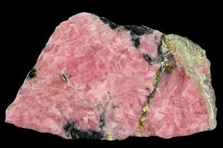 "4"" Polished Rhodochrosite Slab - Argentina For Sale, #113396"