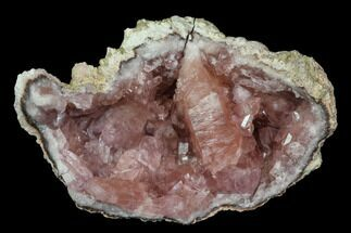 "2.2"" Pink Amethyst Geode Section - Argentina For Sale, #113315"