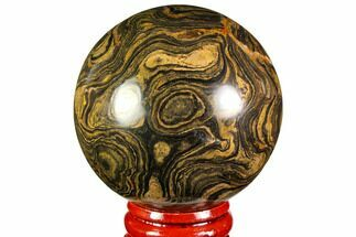 "2.1"" Polished Stromatolite (Greysonia) Sphere - Bolivia For Sale, #113555"