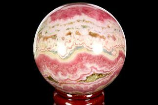 "2"" Polished Rhodochrosite Sphere - Argentina For Sale, #114251"