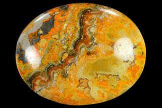 "1.9"" Polished Bumblebee Jasper Stone - Indonesia For Sale, #114635"