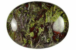 "1.8"" Polished Dragon's Blood Jasper Pocket Stone  For Sale, #115433"