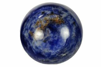 "Buy .9"" Polished Sodalite Sphere - #115834"
